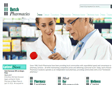 Tablet Preview of dutchpharmacy.net